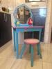 Комплект стол с табуреткой для девочки