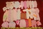 Вещи для девочки 2.5 - 4 месяцев