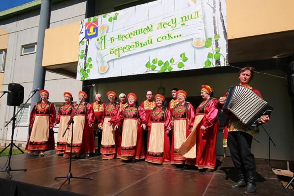 Фестиваль «Березовый сок» в Дубровке