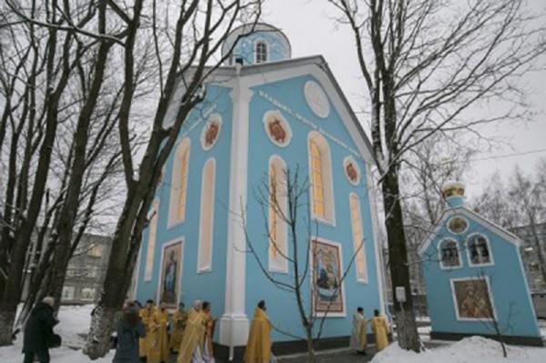 Открытие храма Рождества Богородицы
