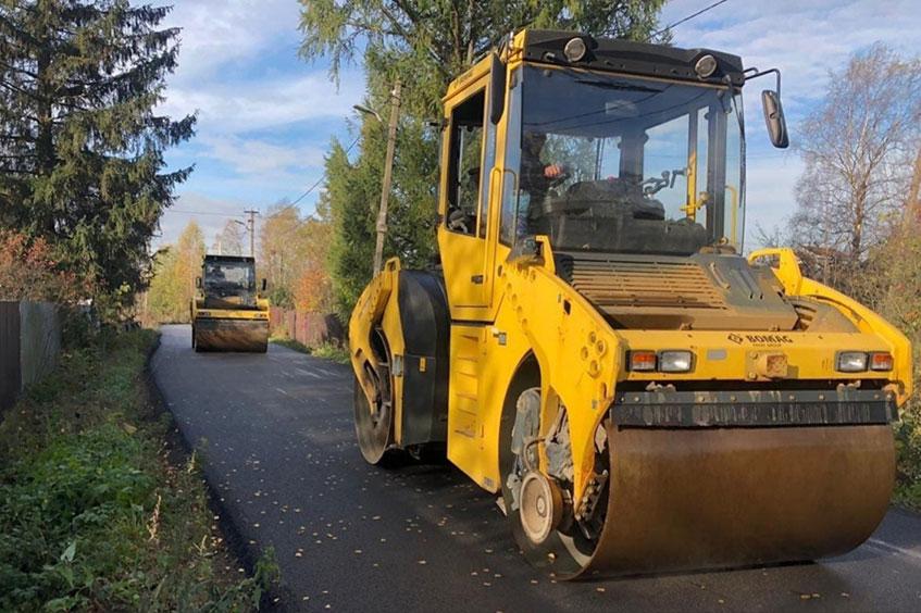 Ремонт дорог в 2021 году